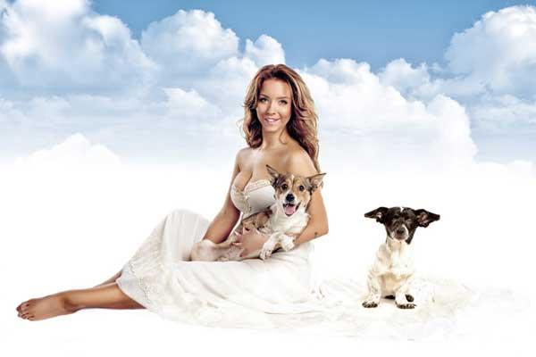 Фото девушек с животными