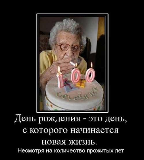 Короткие статусы про день рождения