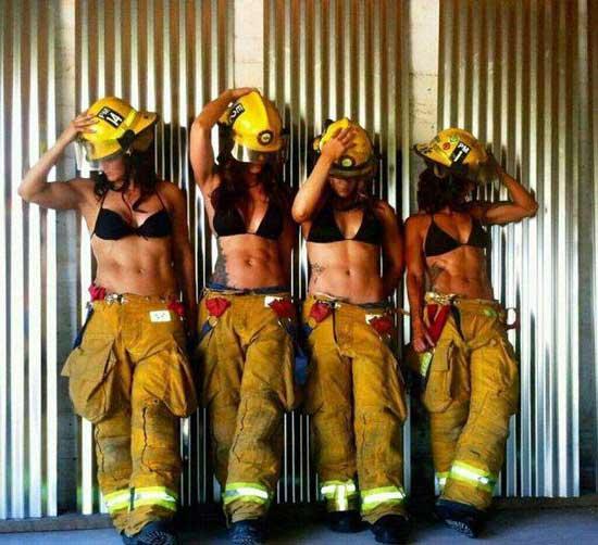 Смешные стихи про пожарных