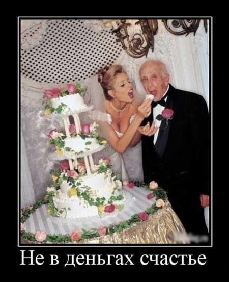 Свадебные демотиваторы