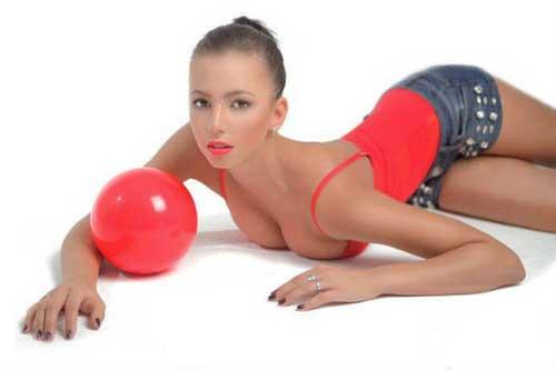 Фото красивых девушек гимнасток