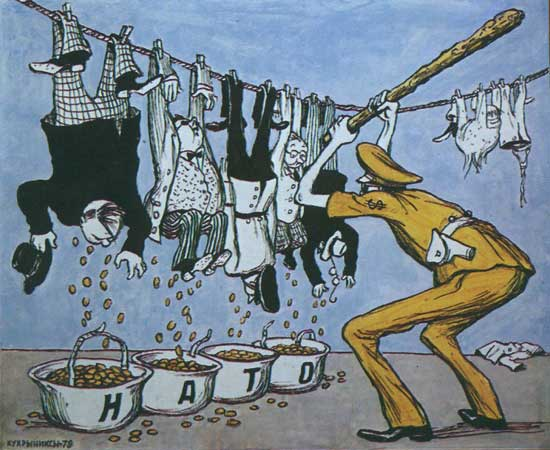 Карикатуры Кукрыниксы