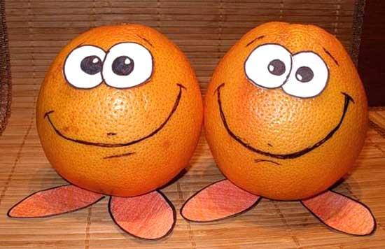 Смешные фрукты - картинки