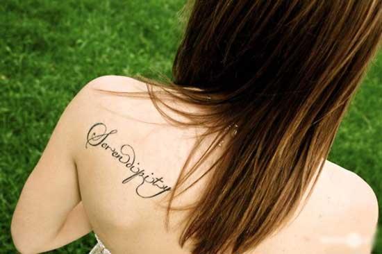 Красивые тату надписи для девушек