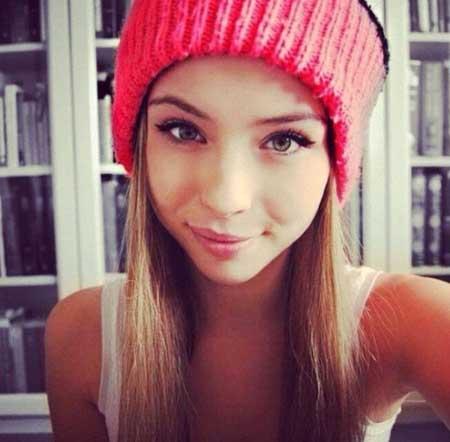 Красивые фото девушек социальных сетей