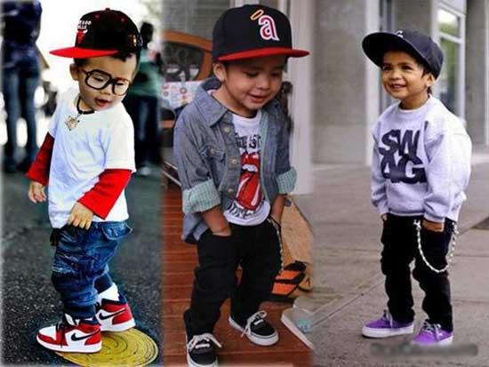 Стильные дети - картинки