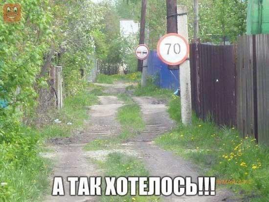 Дороги - смешные фото