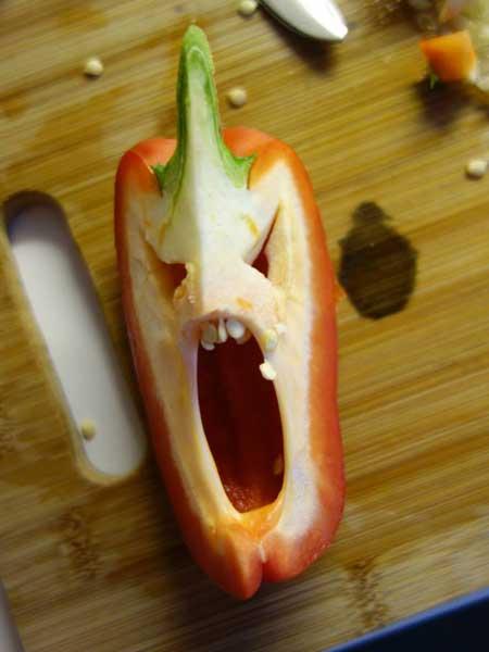 Смешная еда - фото