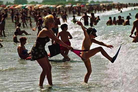 Смешные картинки на пляже